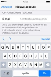 Apple iPhone 4s iOS 8 - Applicaties - Account aanmaken - Stap 15