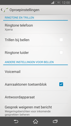 Sony D5803 Xperia Z3 Compact - Voicemail - handmatig instellen - Stap 6