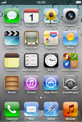 Apple iPhone 4 S - E-mail - e-mail versturen - Stap 1