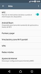 Sony Xperia XZ (F8331) - Mensajería - Configurar el equipo para mensajes multimedia - Paso 5