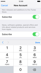 Apple iPhone 5s iOS 9 - Applications - Create an account - Step 16
