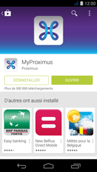 Acer Liquid Jade S - Applications - MyProximus - Étape 10