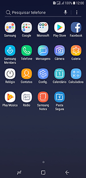 Samsung Galaxy J6 - Primeiros passos - Como encontrar o número de IMEI do seu aparelho - Etapa 3