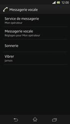 Sony C6603 Xperia Z - Messagerie vocale - Configuration manuelle - Étape 6