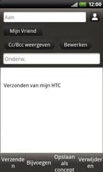 HTC S510b Rhyme - E-mail - hoe te versturen - Stap 8