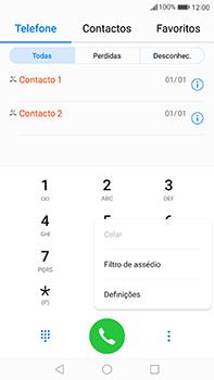 Huawei Mate 9 - Chamadas - Como bloquear chamadas de um número -  4