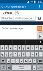 Samsung Galaxy Trend 2 Lite - Contact, Appels, SMS/MMS - Envoyer un SMS - Étape 9
