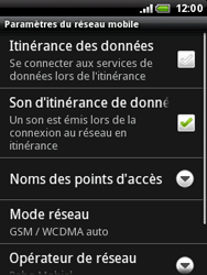 HTC A3333 Wildfire - MMS - configuration manuelle - Étape 7