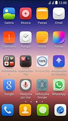 Huawei Ascend Y625 - Aplicações - Como configurar o WhatsApp -  4