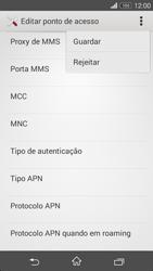 Sony Xperia M2 - MMS - Como configurar MMS -  14