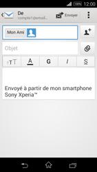 Sony Xpéria E3 - E-mails - Envoyer un e-mail - Étape 8
