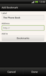 HTC T328e Desire X - Internet - Internet browsing - Step 9