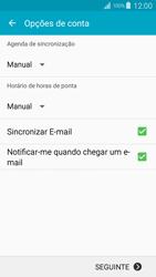Samsung Galaxy S4 LTE - Email - Configurar a conta de Email -  17