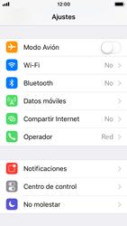 Apple iPhone SE iOS 11 - WiFi - Conectarse a una red WiFi - Paso 3