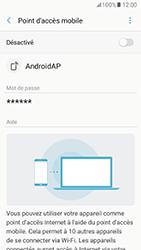 Samsung Galaxy A5 (2017) (A520) - Internet et connexion - Partager votre connexion en Wi-Fi - Étape 11