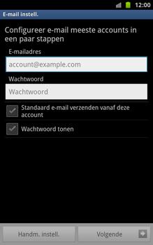 Samsung N7000 Galaxy Note - E-mail - Handmatig instellen - Stap 12