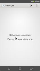 Sony Xperia M2 - Mensajería - Escribir y enviar un mensaje multimedia - Paso 4