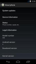 Acer Liquid Jade S - Network - Installing software updates - Step 6