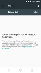 Wiko U-Feel Lite - WiFi et Bluetooth - Configuration manuelle - Étape 5