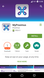 Sony F3313 Xperia E5 - Applications - MyProximus - Step 7