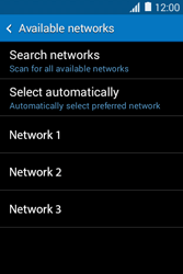 Samsung Galaxy Young 2 - Network - Usage across the border - Step 9