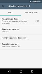 Sony Xperia XA1 - Red - Seleccionar el tipo de red - Paso 8