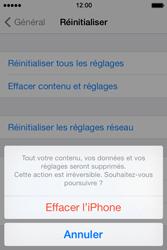 Apple iPhone 4 - Aller plus loin - Restaurer les paramètres d'usines - Étape 7