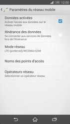 Sony Xpéria Z3 - Internet et connexion - Activer la 4G - Étape 8