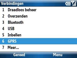 Samsung C6620 - Internet - handmatig instellen - Stap 7