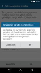 HTC One M9 (Model 0PJA100) - Instellingen aanpassen - Fabrieksinstellingen terugzetten - Stap 7