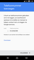 Sony Xperia X (F5121) - Applicaties - Account aanmaken - Stap 14