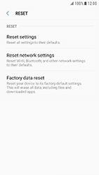 Samsung Galaxy Xcover 4 - Device - Reset to factory settings - Step 7