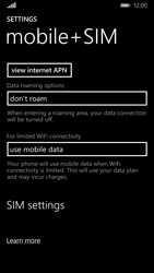Nokia Lumia 830 - Network - Usage across the border - Step 5