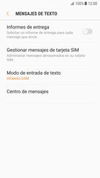 Samsung Galaxy S7 - Android Nougat - Mensajería - Configurar el equipo para mensajes de texto - Paso 8
