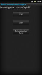 Sony LT26i Xperia S - E-mail - Configuration manuelle - Étape 7