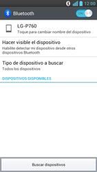 LG Optimus L9 - Bluetooth - Conectar dispositivos a través de Bluetooth - Paso 6