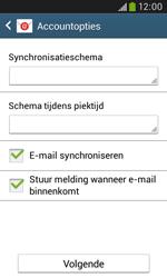 Samsung S7580 Galaxy Trend Plus - E-mail - handmatig instellen - Stap 17