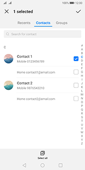 Huawei Mate 10 Pro Android Pie - MMS - Sending a picture message - Step 5