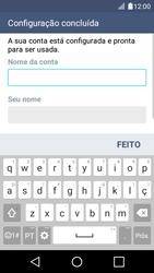 LG K4 - Email - Configurar a conta de Email -  18
