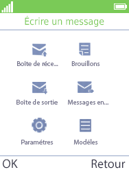 Mobiwire Doli - Contact, Appels, SMS/MMS - Envoyer un MMS - Étape 4