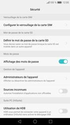 Huawei P9 - Sécuriser votre mobile - Personnaliser le code PIN de votre carte SIM - Étape 6