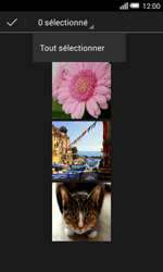 Alcatel OT-5050X Pop S3 - Photos, vidéos, musique - Envoyer une photo via Bluetooth - Étape 8