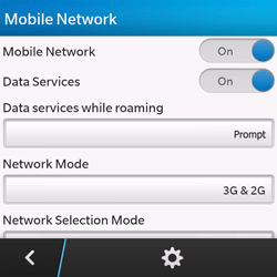 BlackBerry Q10 - Internet - Enable or disable - Step 6