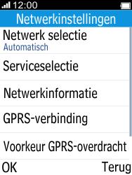 Alcatel 2045 (2045X) - Buitenland - Bellen, sms en internet - Stap 6