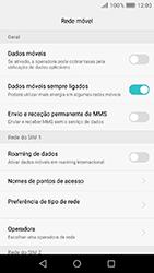 Huawei Y6 (2017) - Internet no telemóvel - Como ativar os dados móveis -  5