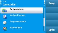 Nokia N97 - MMS - handmatig instellen - Stap 5