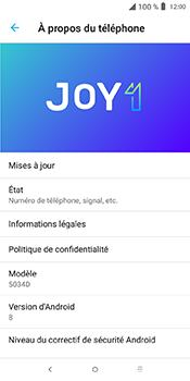Alcatel 3L - Aller plus loin - Mettre à jour le logiciel interne de votre mobile - Étape 7