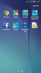 Samsung Galaxy S6 - Aplicações - Como configurar o WhatsApp -  4