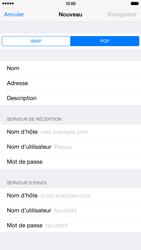 Apple iPhone 6 Plus iOS 8 - E-mails - Ajouter ou modifier un compte e-mail - Étape 11