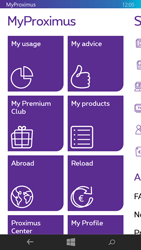 Nokia Lumia 735 - Applications - MyProximus - Step 17